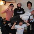 Live 2009.04.20 下北沢440 ④ 終演後楽屋にて 撮影:hap-nori