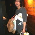 Live 2007.09.20[NOBE mania Camp] 吉祥寺Star Pine's Cafe 本番終演後 撮影:田村のぶ子